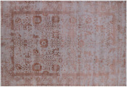 6and039 2 X 9and039 2 Wool And Silk Hand Knotted Rug - Q6297