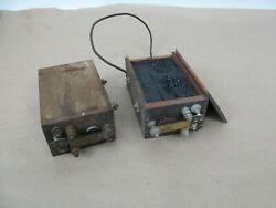 2 Vintage Antique Magnetos For Hit And Miss Gas Engines Or Buzz Coils