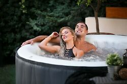 Pro6 M-spa Aurora Inflatable Spa Hot Tub 4 To 6 Seat Capacity D-au06, 138 Jets