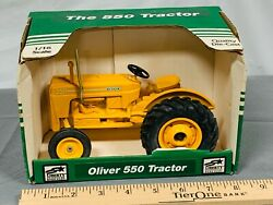 Oliver 550 Industrial Tractor 116 Spec-cast Yellow Nib Great American Toy 1997