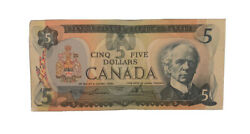 Canadian Money 1979 Bank Of Canada - 5 Five Dollars Sold As Seen In Pictures.