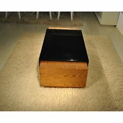 Ergode 54 Contemporary Coffee Table In American White Oak With A Warm Honey ...