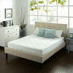 Queen Size Mattress 8 Inch Luxury Adult Bedroom Coil Spring Back Pain Relief Bed