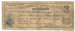 Texas C.s.a. State Lavaca County Hallettsville M-03 3 July 1862 F+ Z