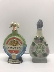 Vintage Jim Beam Collectable Regal China Whiskey Bottle Or Decanters