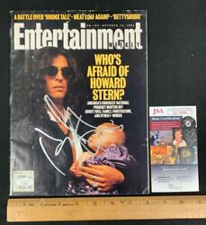 Howard Stern Radio Host Hand Signed 1993 Entertainment Weekly Magazine Jsa/coa