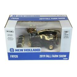 164 New Holland Fr920 Gold Chase Forage Harvester By Ertl 2019 Fall Farm Show