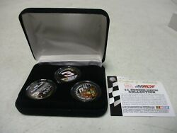 3 Dale Earnhardt Us Painted State Quarters