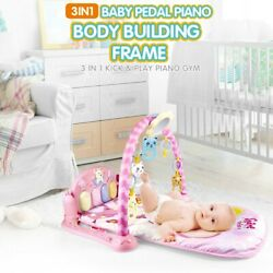Large Baby Game Pad Music Pedal Piano Music Fitness Rack Crawling Mat