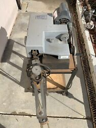 Vintage Foley Belsaw 330 Automatic Circular Saw Power Setter W/rolling Cart