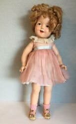 Ideal Composition Shirley Temple Doll 22 1934-1938