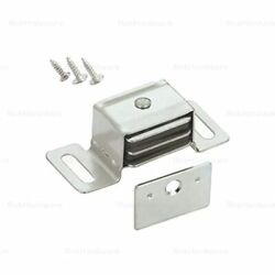 5 Pack Hardware Double Side Strong Magnetic Catch Latch Cabinet Closet Drawer