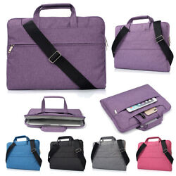 Laptop Bag Case with Shoulder StrapWaterproof Computer Carring Sleeve Cover $20.76