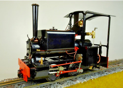 Accucraft S78-4b Live Steam Butane Kerr Stuart And039wrenand039 04-0st In 7/8ths Scale