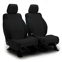 Coverking Premium Neosupreme Black Front Tailored Seat Covers For Nissan Altima