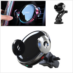 Qi Wireless Car Charger Phone Holder Automatic Clamping Intelligent Infrared