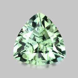 1.48cts Calibrated 8mm Trilliant Cut Natural Summer Green Tourmaline Watch Video