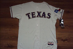 Texas Rangers New Mlb Majestic Authentic Cool Base Game Jersey