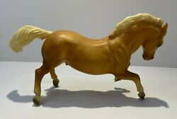 Breyer Plastic Horse Tan body with cream color mane and tail.