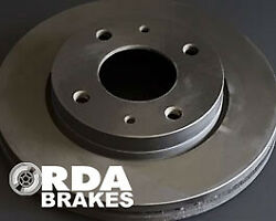 Rda Oe Replacment Brake Rotor Pair Rear Rda8446 For Is Is200t Ase30r