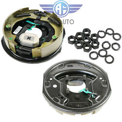 Pair Of Left And Right Side 10 X 2-1/4 Trailer Electric Brake Assembly