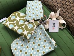 ORLA KIELY FOR TARGET COSMETIC BAGS SET OF 3 — NEW $29.99