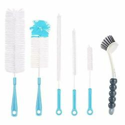 Bottle Cleaning Brush Set Long Handle Water Cleaner For Washing Wine Decanter