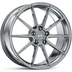 4 Staggered 20x10 / 20x11 Variant Argon Titanium 5x120 +20/+20 Wheels Rims