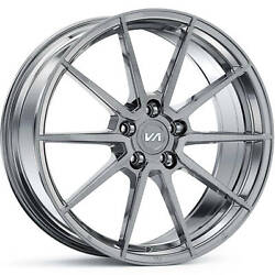 4 Staggered 20x10 / 20x11 Variant Argon Titanium 5x4.5 +40/+45 Wheels Rims