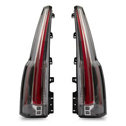For 2015-2020 Chevy Tahoe Suburban Clear Escalade Style Led Taillights