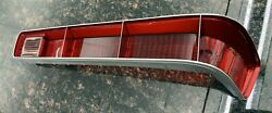 1970-72 Gto / Lemans Tail Lamp Light Lens With Ribs Rh Right Passenger Side