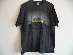 Vintage Pink Floyd The Dark Side Of The Moon New Tie Dye T-shirt Mens Large Nwt