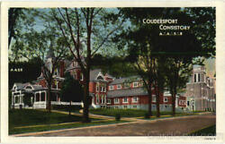 1950 Coudersport Consistory A. A. S. Rpa Potter County Pennsylvania Postcard