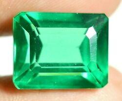 20.80 Ct Colombian Natural Green Emerald Ggie Certified Loose Gemstone F1044