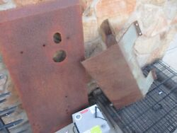 Used 2 Underbody Protection Skid Plates, For 1966 International Scout Ih 800