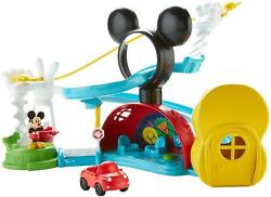 Fisher-price Disney Junior Mickey Mouse Clubhouse Zip Slide And Zoom Clubhou...