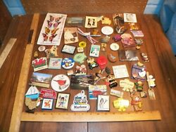 Vintage Lot Of Assorted Refrigerator Magnets, Souvenirs And Others