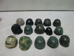 15 Assorted Soldiers Of The World Military Helmets 20