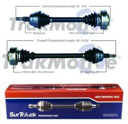 🔥surtrack Set Of Front Left And Right Cv Axle Shafts For Audi Tt Quattro 00-02🔥