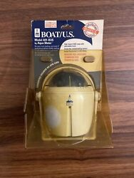 Boat Us Rugged All Around Compass Power And Sail Mountable A91-bus Aqua Meter Usa