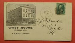 1881 West House Hotel Advertising St. Cloud Mn