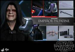 Dhl Express Hot Toys 1/6 Star Wars Epvi Mms468 Emperor Palpatine Deluxe Ver