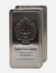 Great Investment 1-10 Troy Oz 999 Fn Silver Scottsdale Stacker Bar+extras