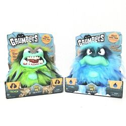 Lot Of 2 Grumblies Tremor Hydro Electronic Monsters 40 Reactions And Sounds New