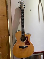 Taylor 814ce Deluxe Grand Auditorium Electro Acoustic Guitar Beautiful To Behold