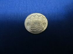 1728 Silver Early American Colonial Coin Before Us Minted Coins Free Shipping