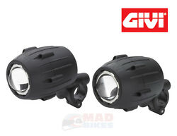 Givi S310 Trekker Motorcycle Halogen Spot Lights Bmw R1200gs F800gs F700gs