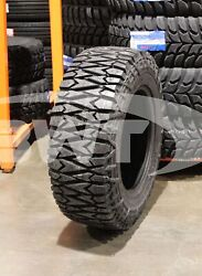 2 New Tri Ace Pioneer 285/65r18 M/t Mud Tires 125q Lre Bsw 2856518 285/65/18