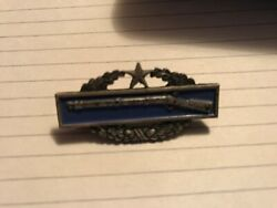 1.75 Us Army Infantry Combat Badge C.i.b. 2nd Award Meyer 22m Sterling Silver