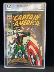 Captain America 117 Graded 6.0 First App And Origin Of The Falcon